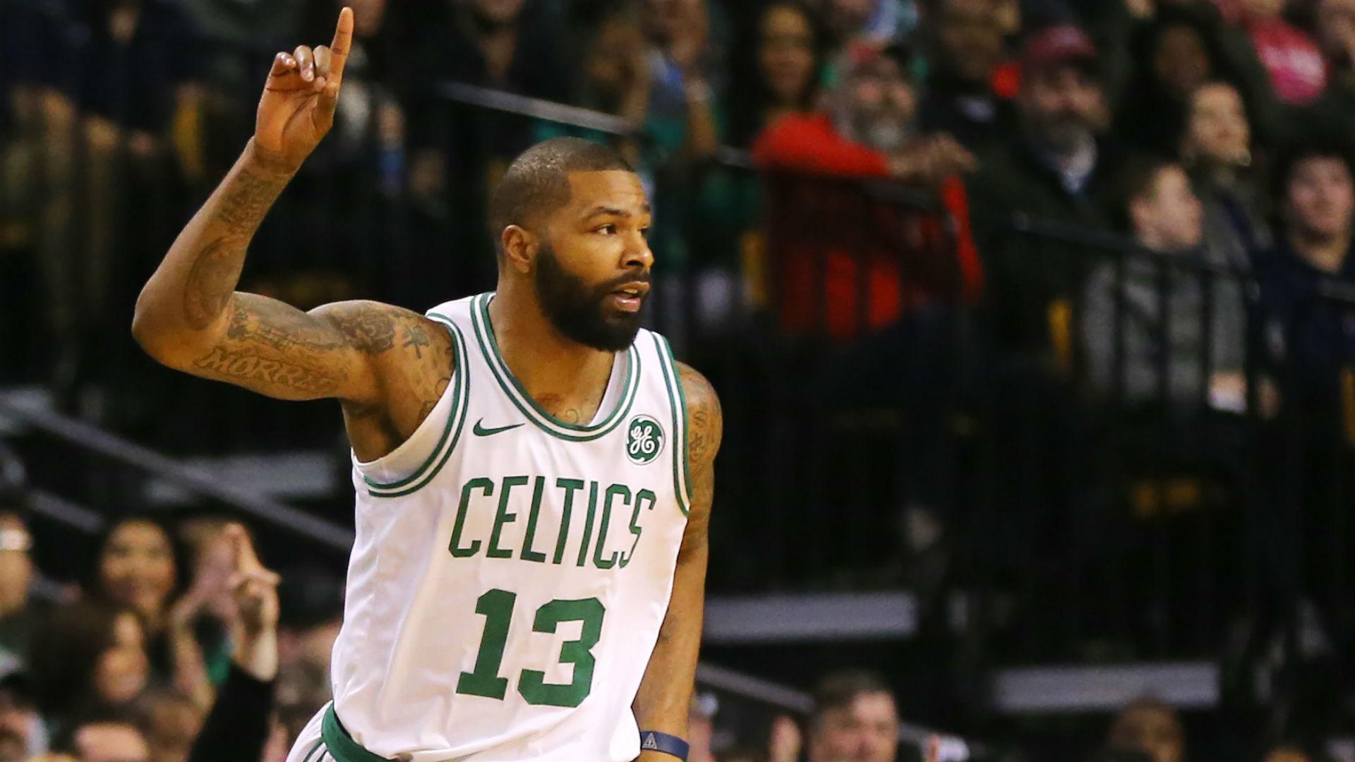 official photos 7a128 a28c2 NBA wrap: Marcus Morris, Celtics capitalize on Thunder ...