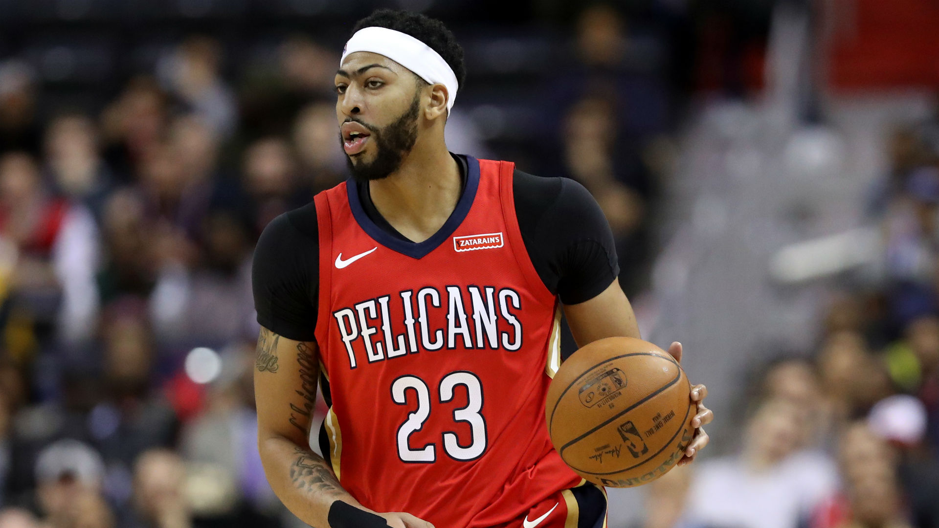 Pelicans All-Star Anthony Davis leaves game with ankle injury ... 317199183