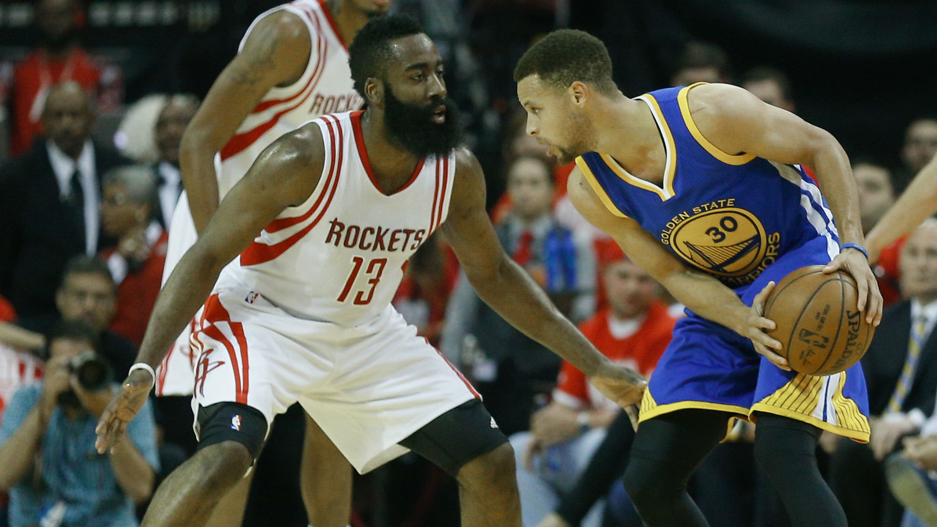 new product a9007 bcbee Stephen Curry says he is fine being James Harden's target ...