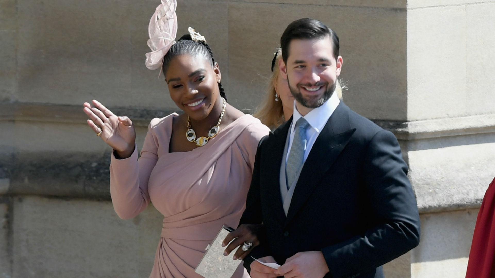 Guests At Royal Wedding.Serena And Beckham Among Royal Wedding Guests Football News