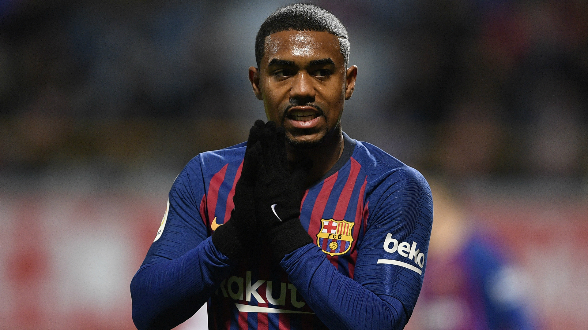 Malcom denies Barcelona exit reports