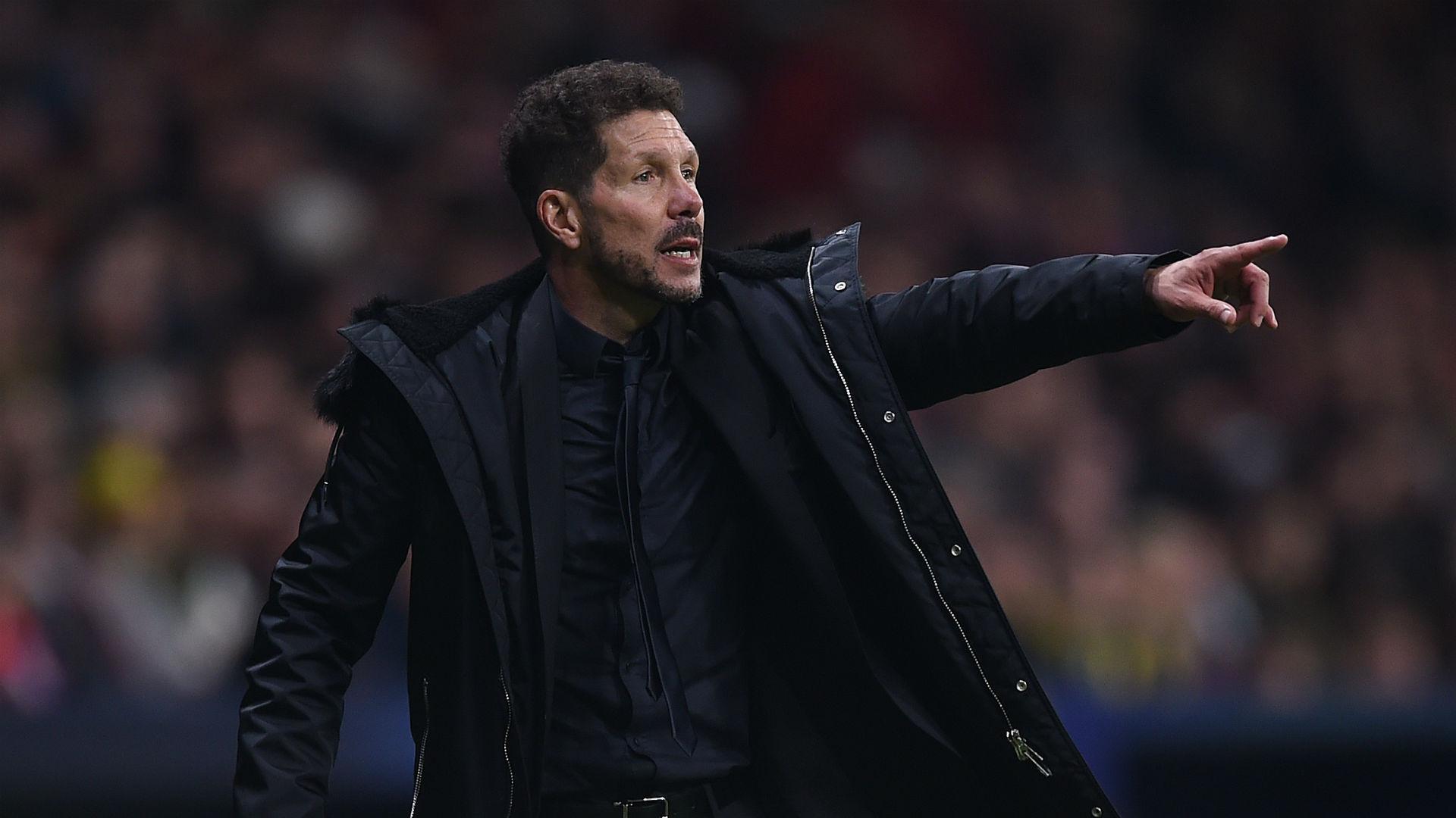 Atletico boss Simeone not fazed by injury rumours