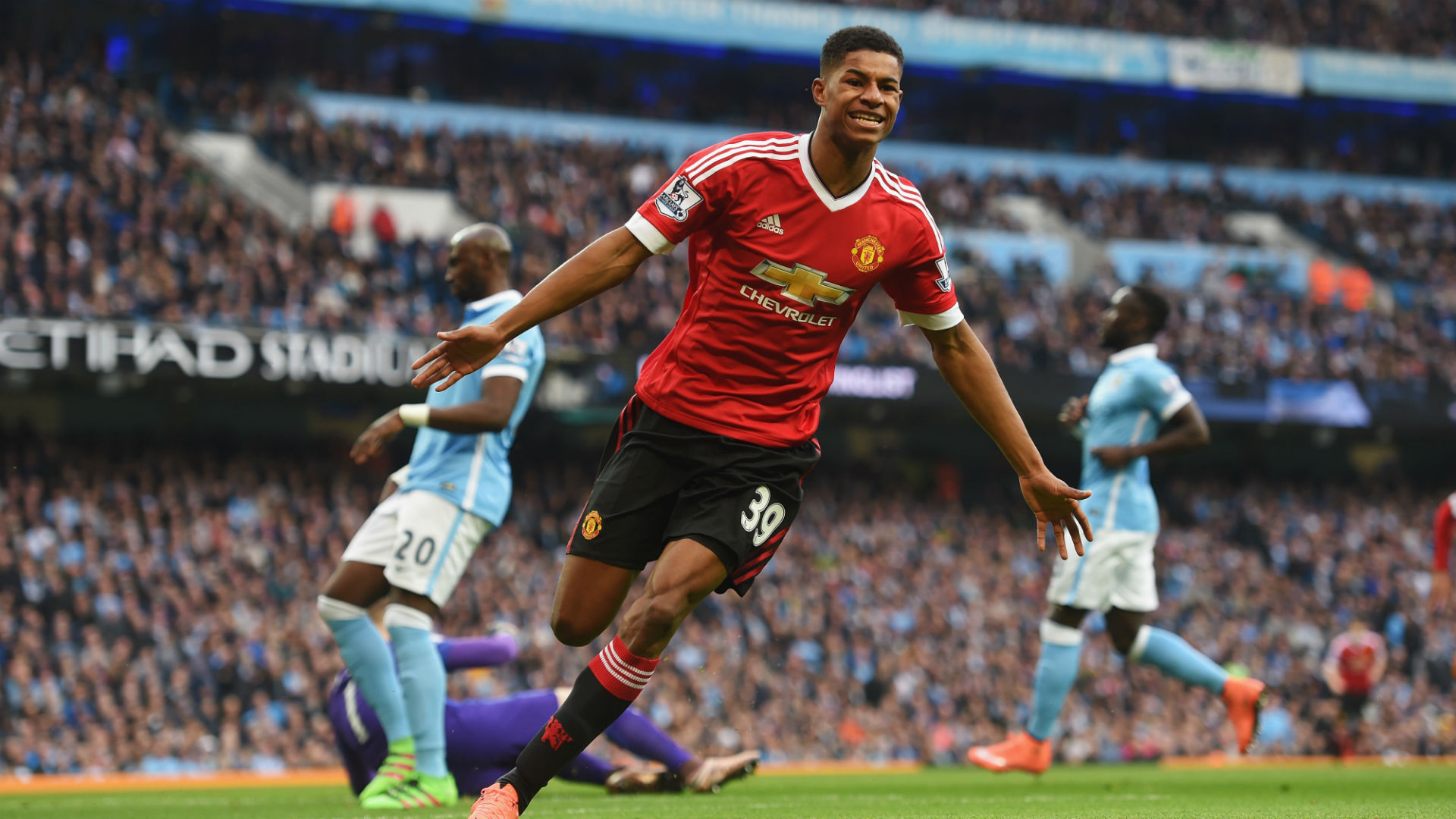 Manchester derby winner my finest hour - Rashford