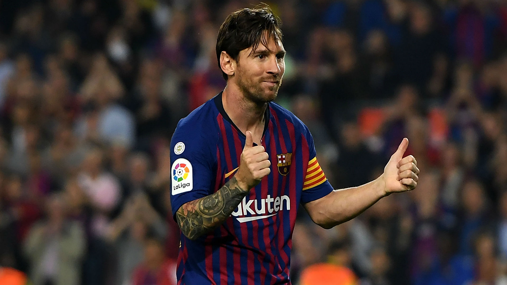 Messi returns to Barcelona squad following broken arm