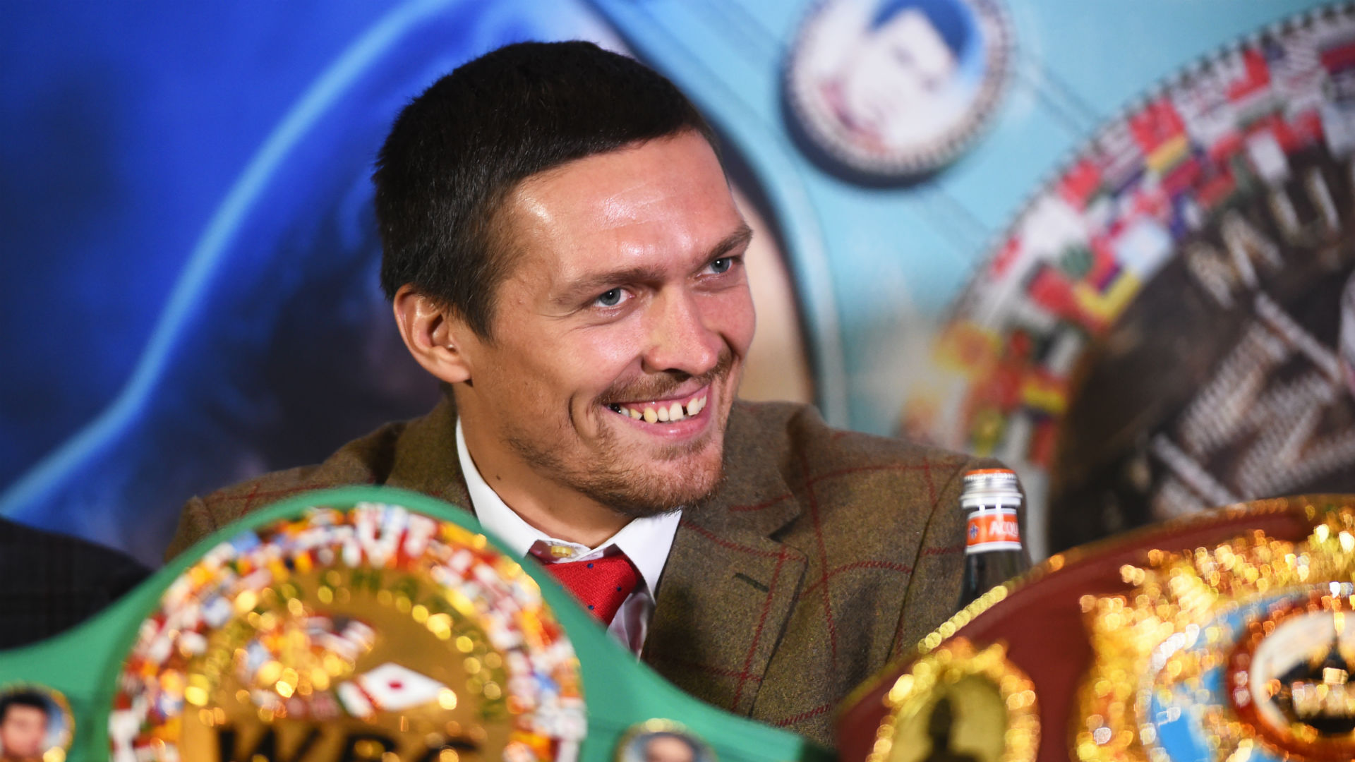 Who is Oleksandr Usyk, the unknown, unbeaten, undisputed champ?