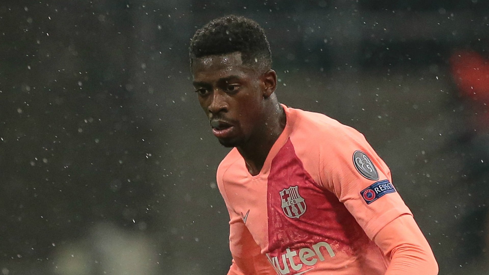 Dembele omission not a punishment, insists Barca boss Valverde