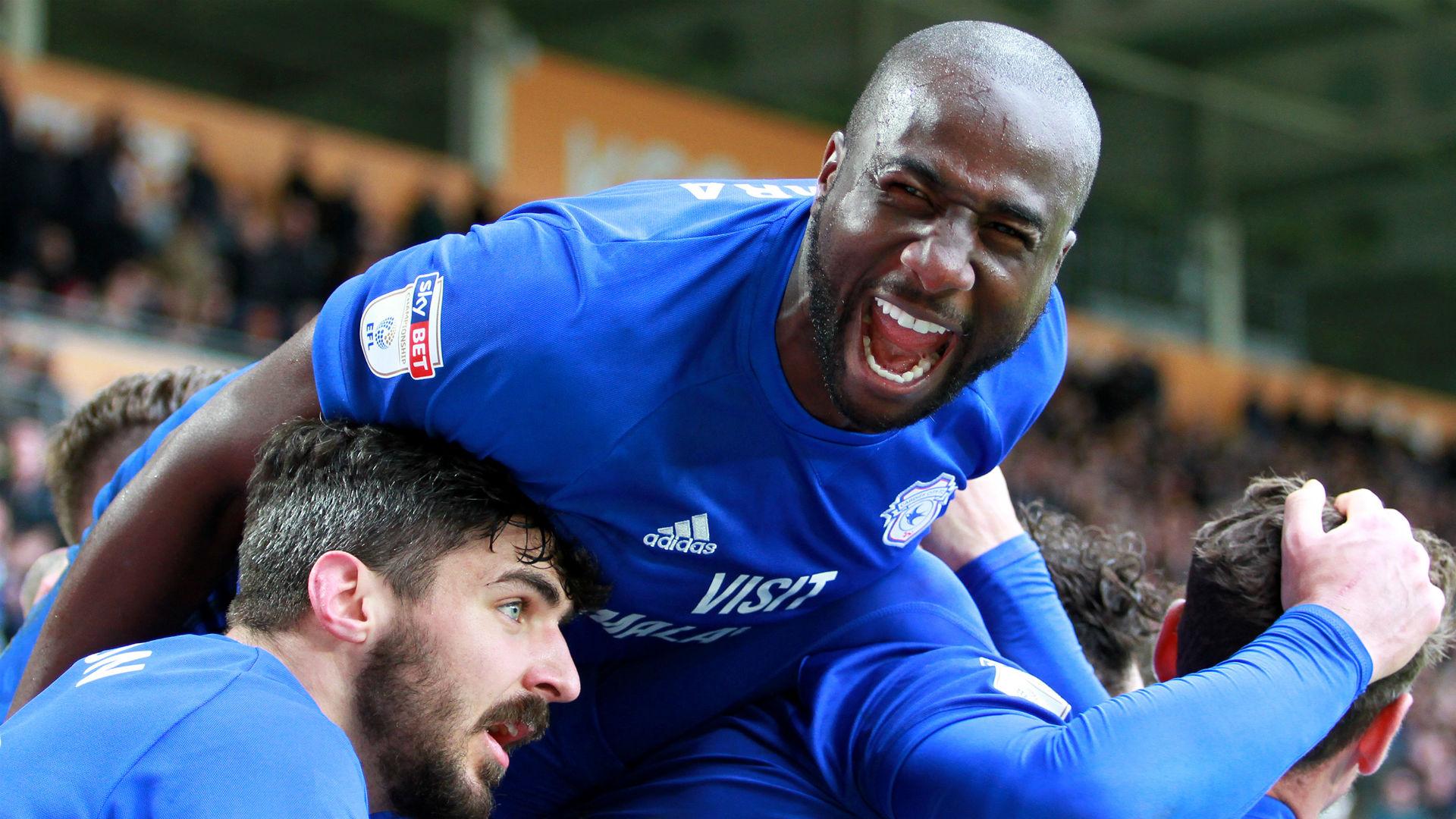 Cardiff City 2 Brighton and Hove Albion 1: Bamba the hero as Bluebirds break down 10 men