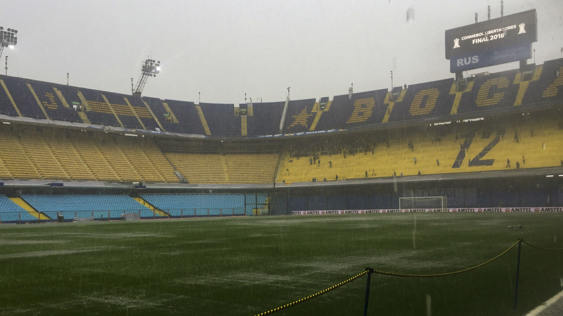 Boca v River Copa Libertadores final first leg postponed
