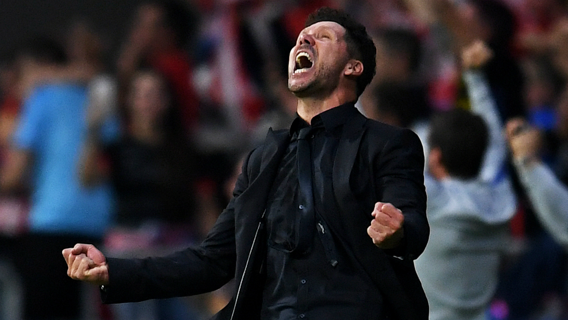 Simeone hails 'extraordinary' atmosphere after dramatic Atletico win