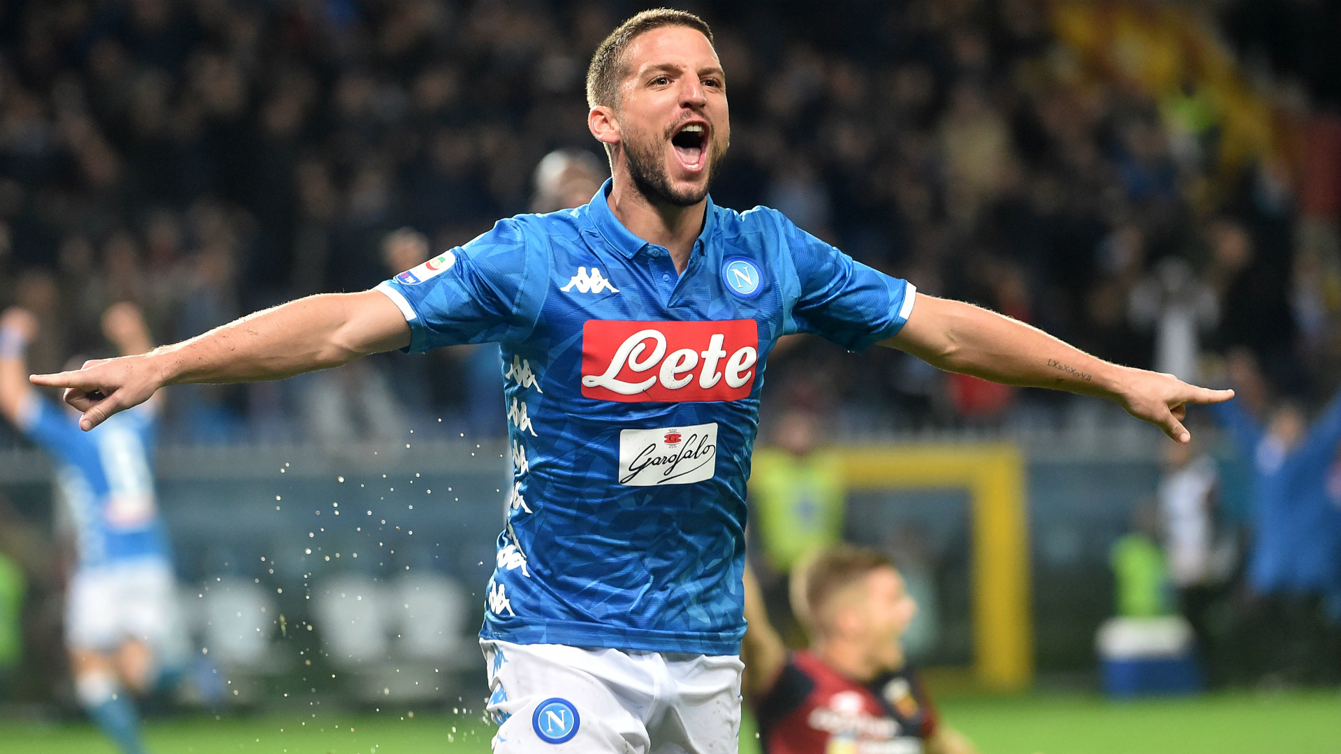 Napoli Claim Comeback Win In Rain Delayed Genoa Clash Football News Stadium Astro