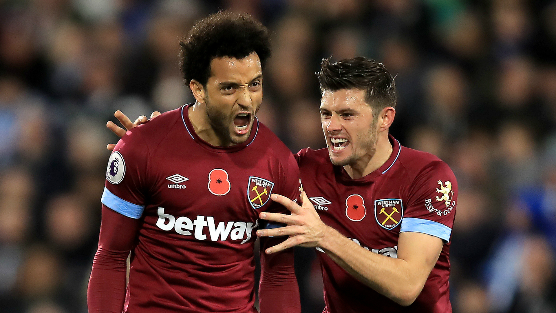 Huddersfield Town 1 West Ham 1: Felipe Anderson comes to Hammers rescue