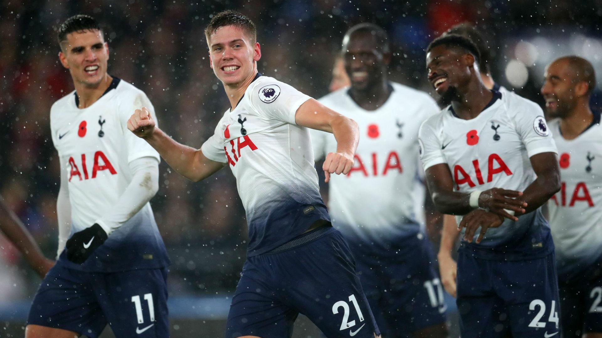 Crystal Palace 0 Tottenham 1: Spurs secure Foyth successive win