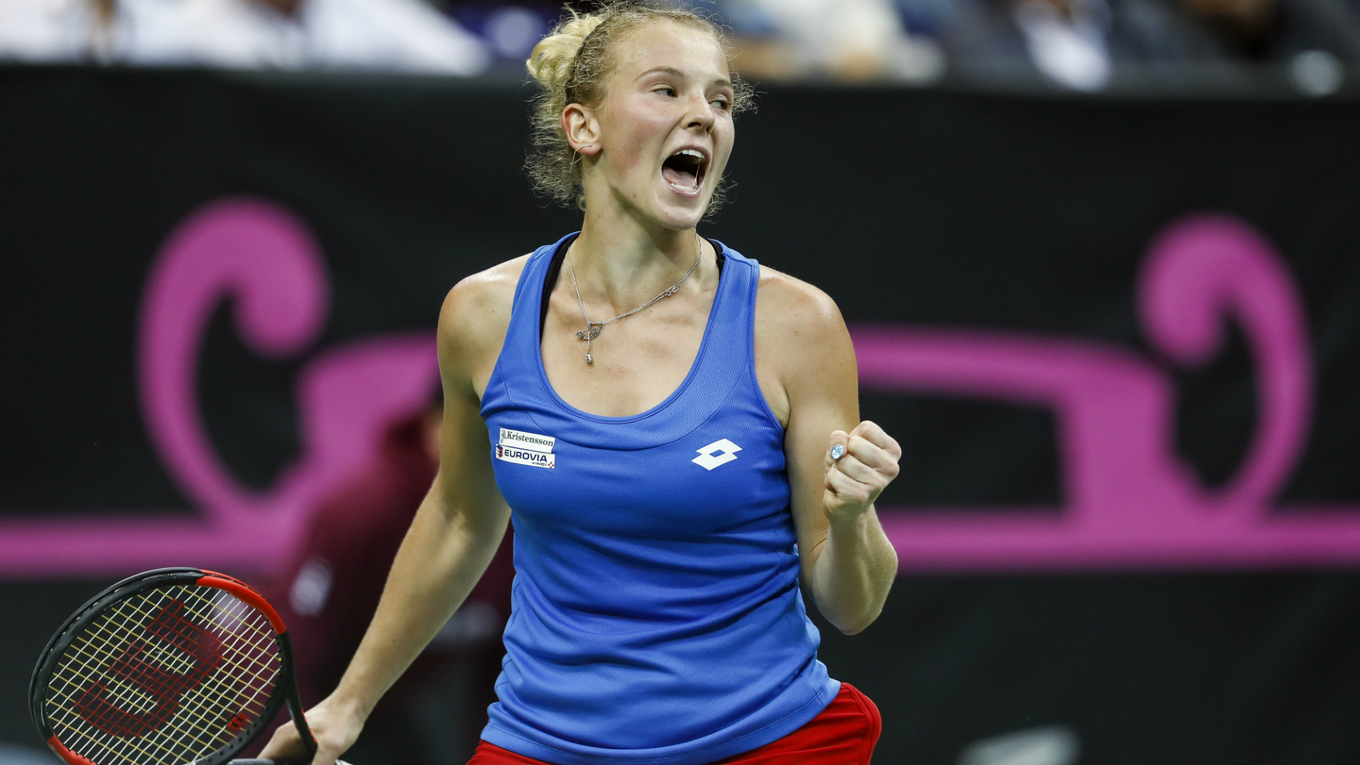 No Kvitova, no problem as Czech Republic claim 2-0 Fed Cup final lead