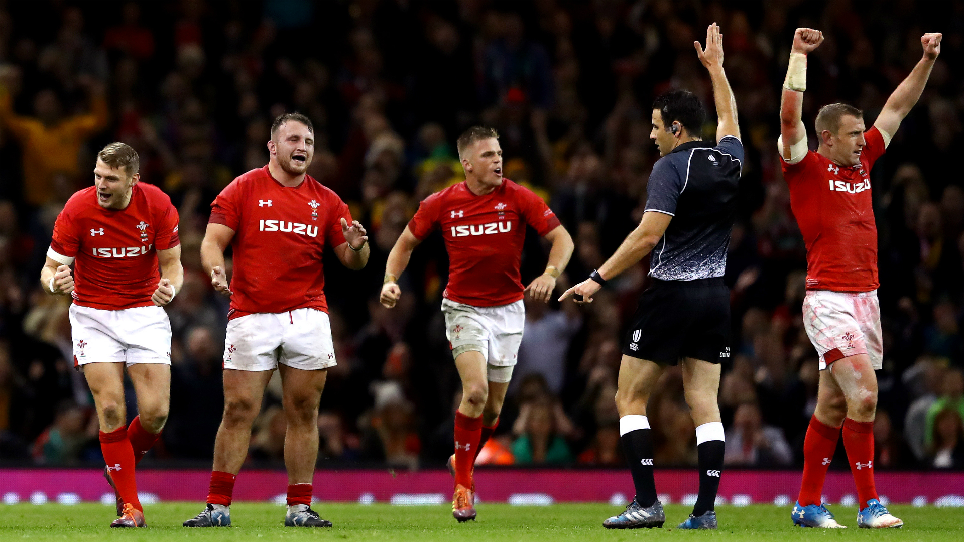It shows how old I am! - Wyn Jones thrilled to end Wales' Wallabies drought