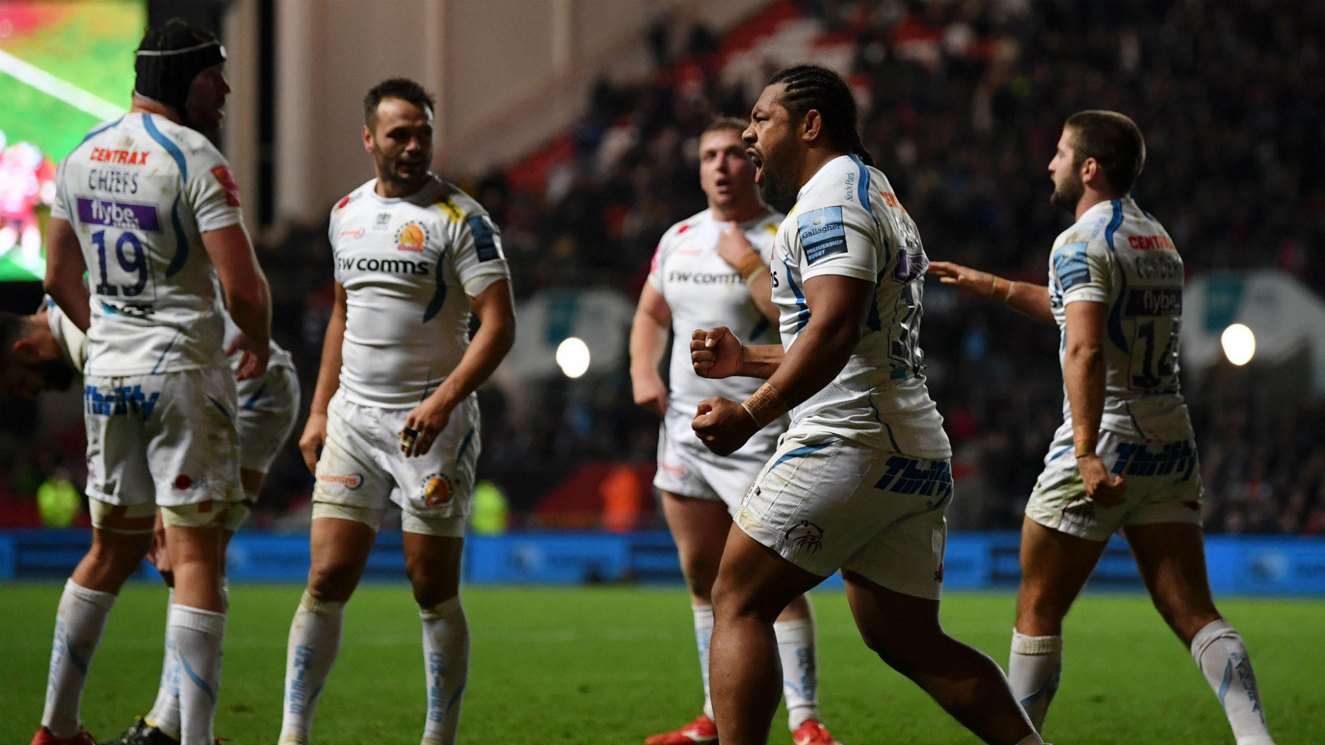 Last-gasp Exeter penalty try shatters Bristol