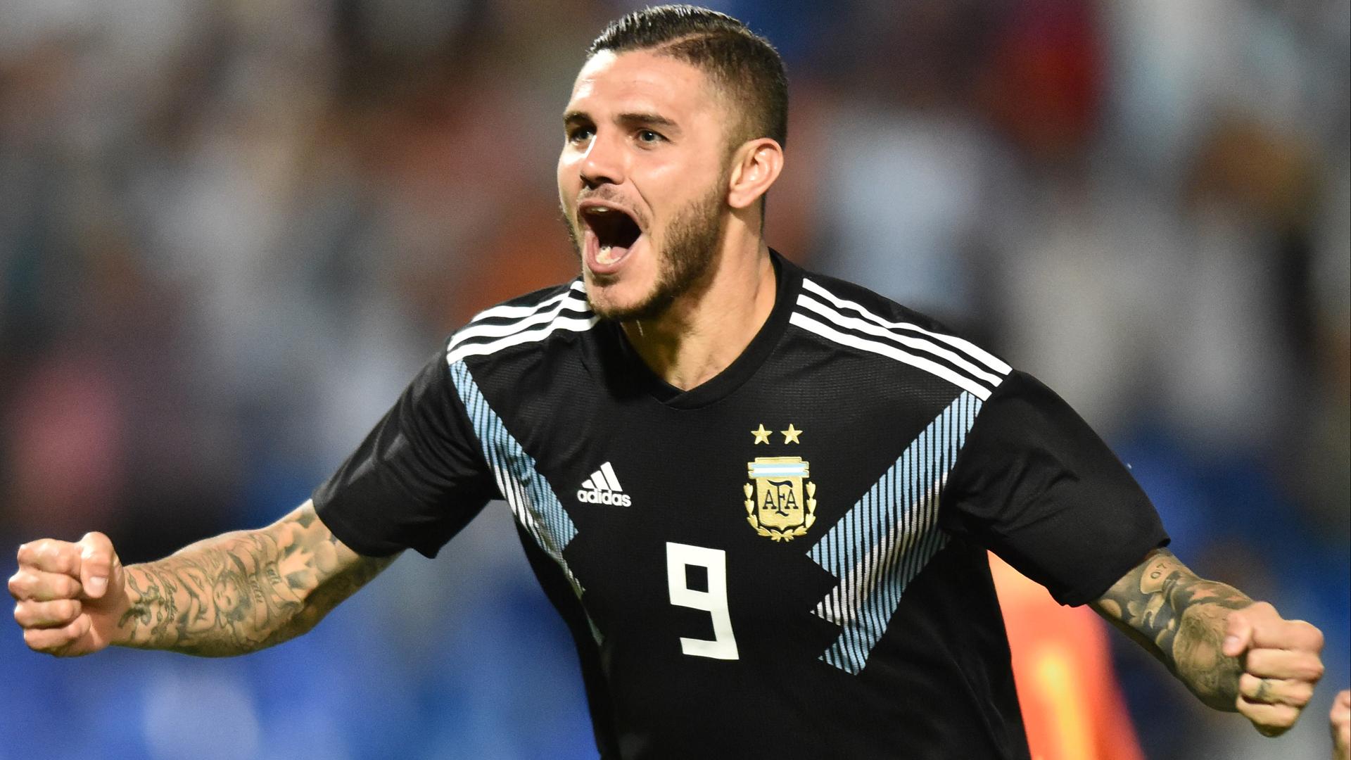 Argentina 2 Mexico 0: Icardi, Dybala score first international goals
