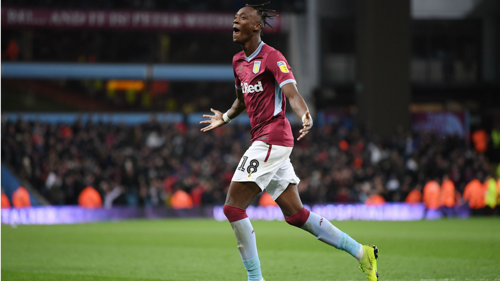 Championship Review: Abraham nets four as Villa and Forest draw in 10-goal thriller