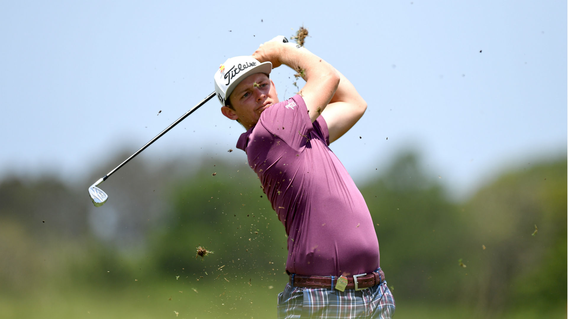 Defending champion has second-round lead at Australian PGA