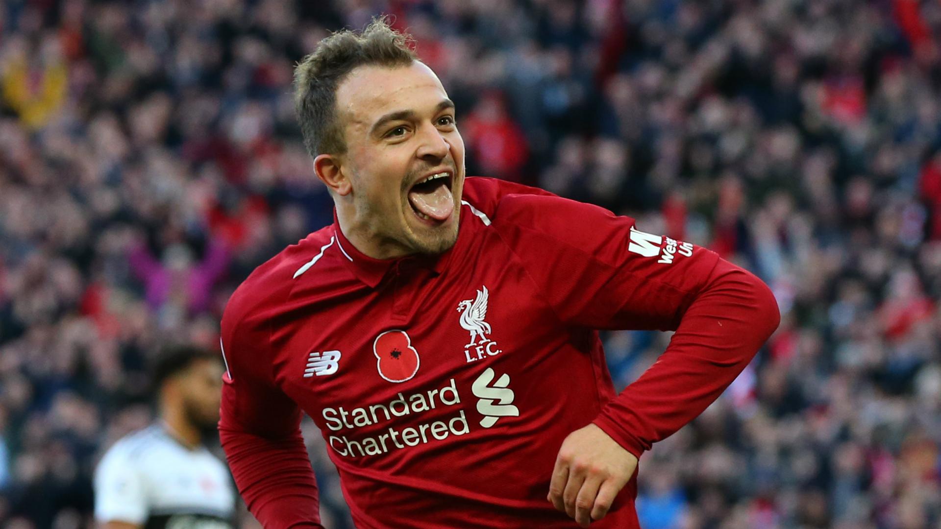 Liverpool v Everton: Shaqiri proving a cut-price Coutinho at Anfield