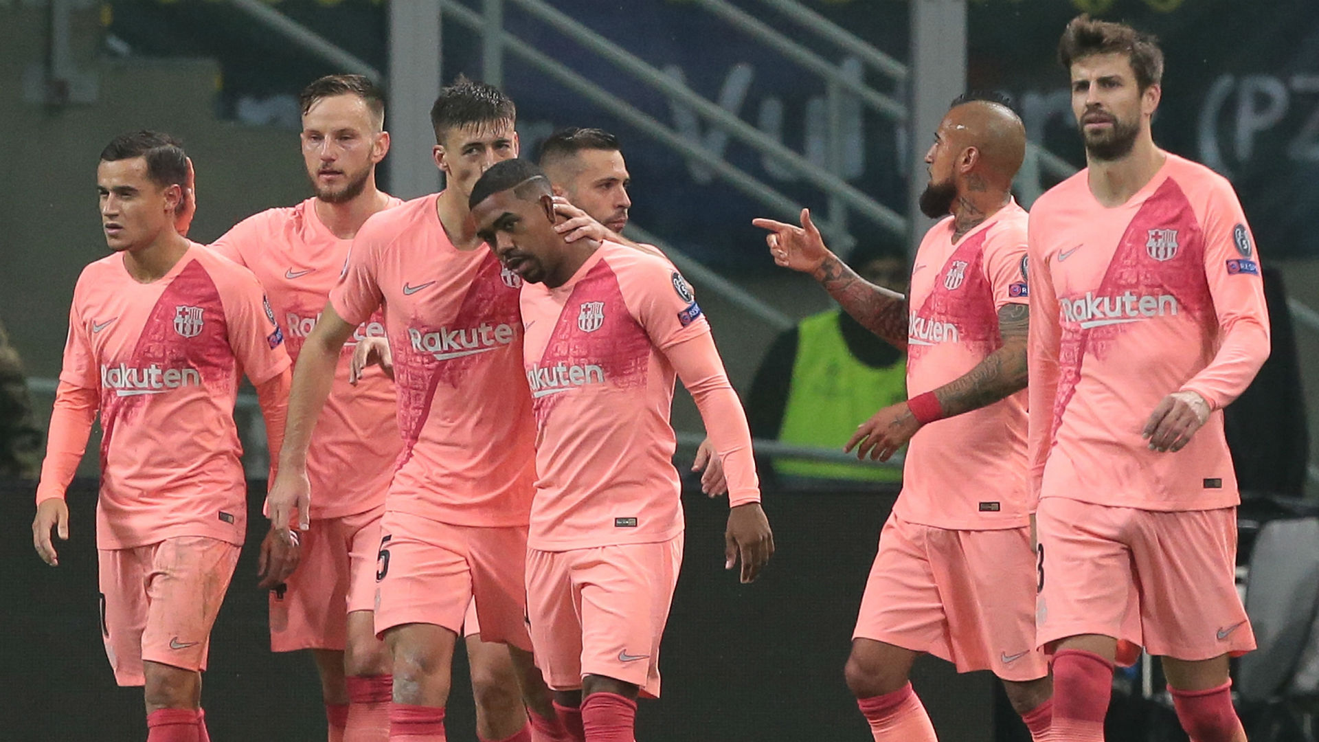Busquets delighted for Malcom after breakthrough goal