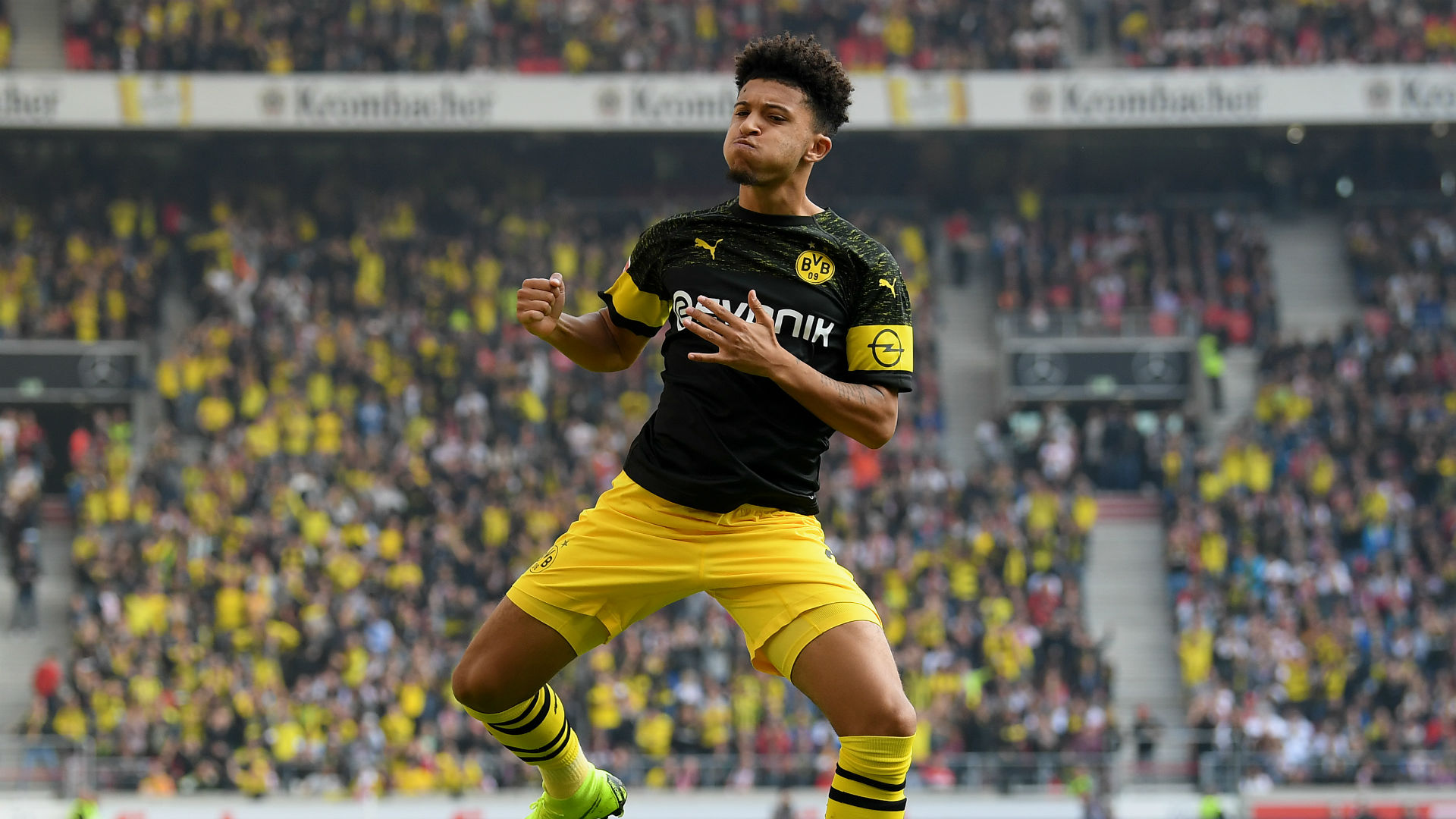 Borussia Dortmund v Bayern Munich: Sancho and BVB's young guns poised for title statement