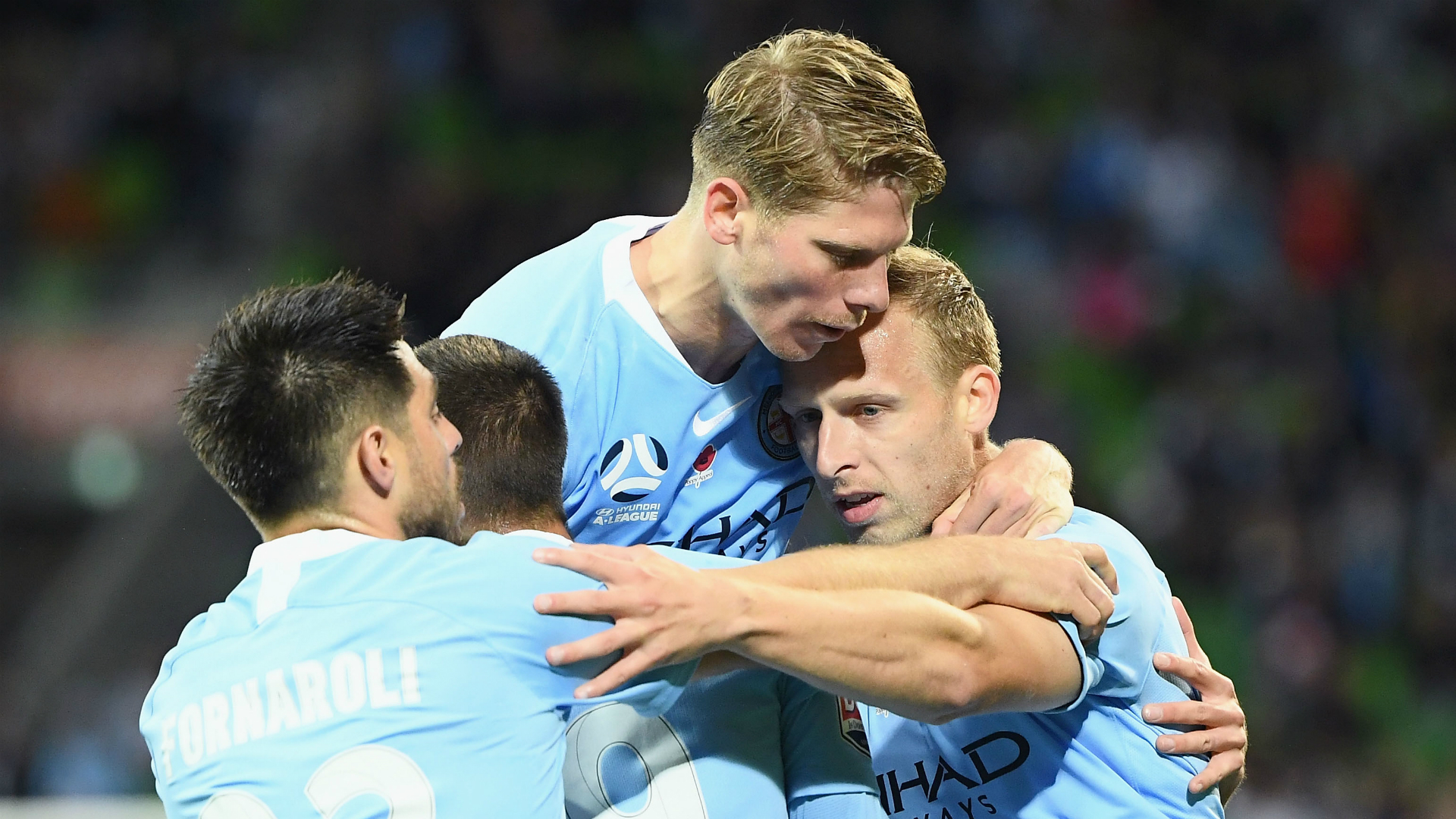 Melbourne City 2 Wellington Phoenix 0: De Laet, Fornaroli get Joyce's side back on track