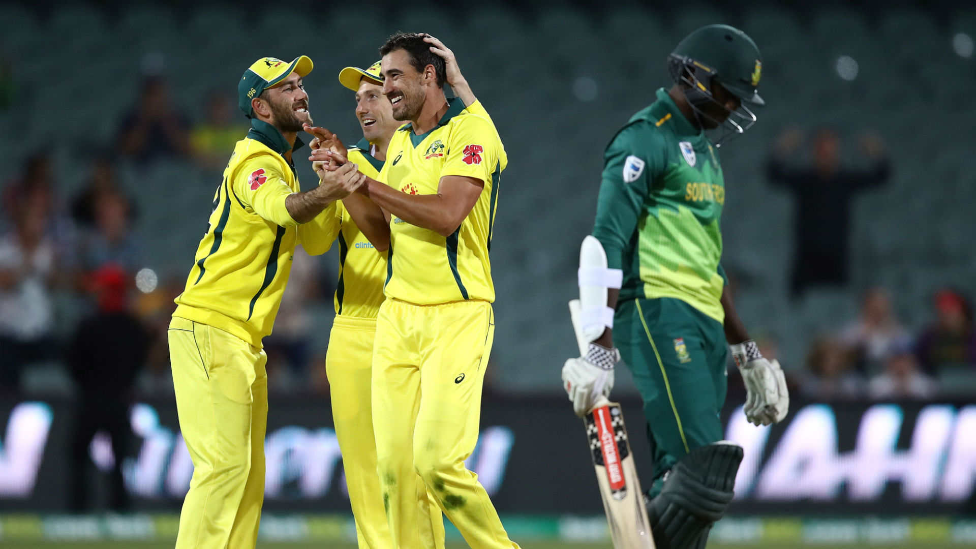 Australia end miserable run with ODI win over Proteas