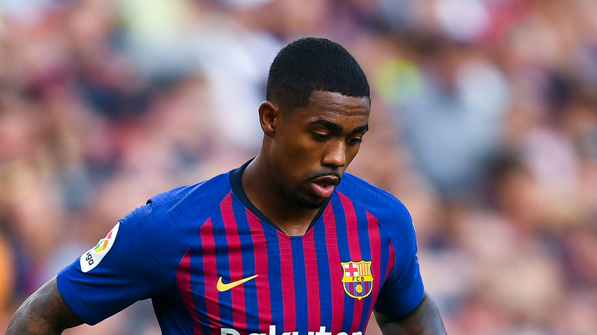 Malcom left out of Barcelona squad