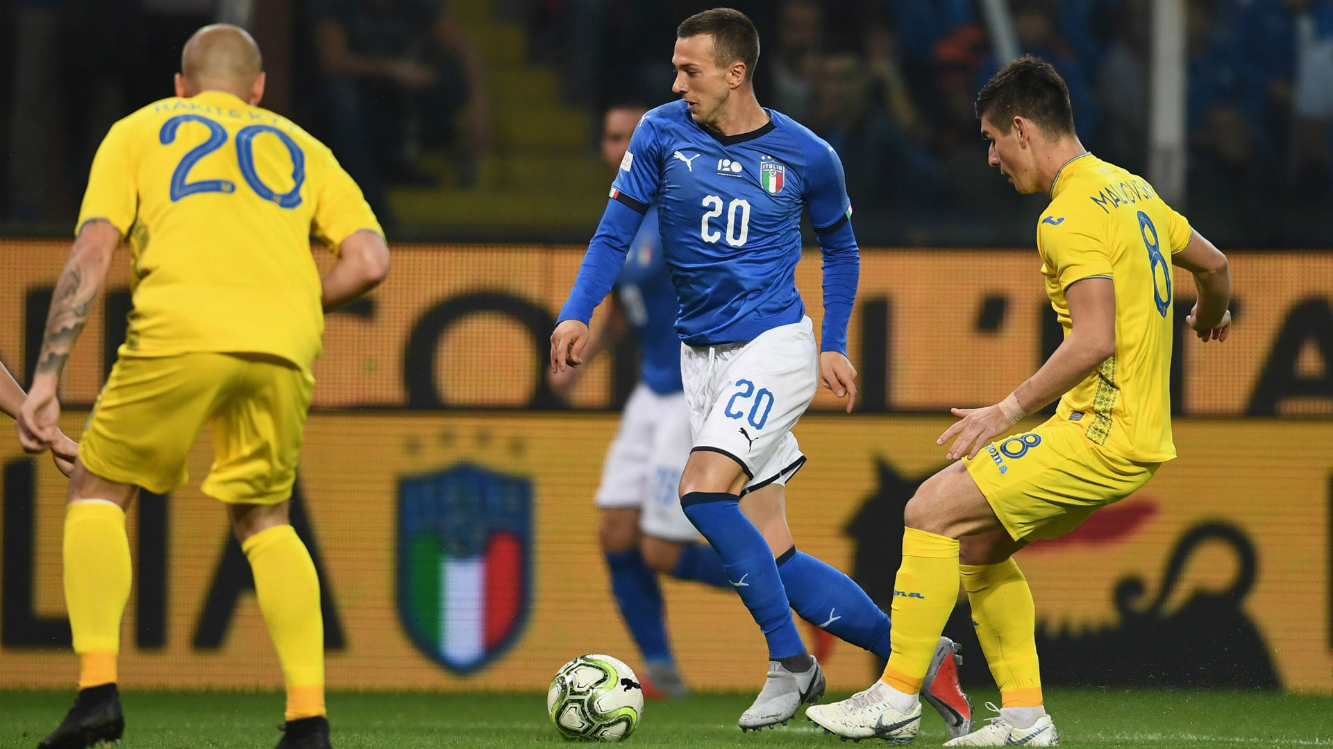 Image result for italy ukraine 1-1