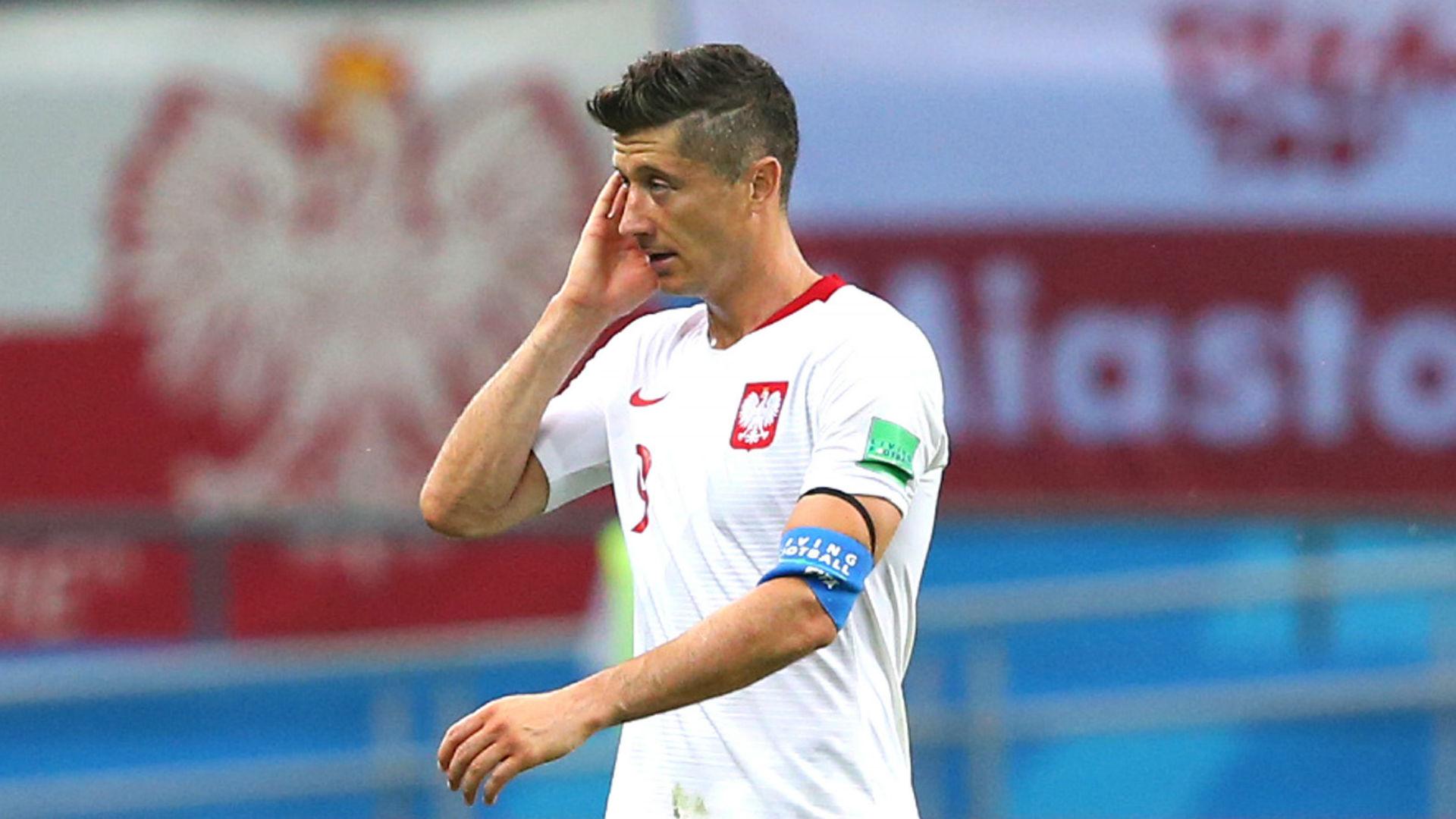 on sale 6aefe fe5b4 Poland 2 Portugal 3: Selecao spoil Lewandowski landmark ...
