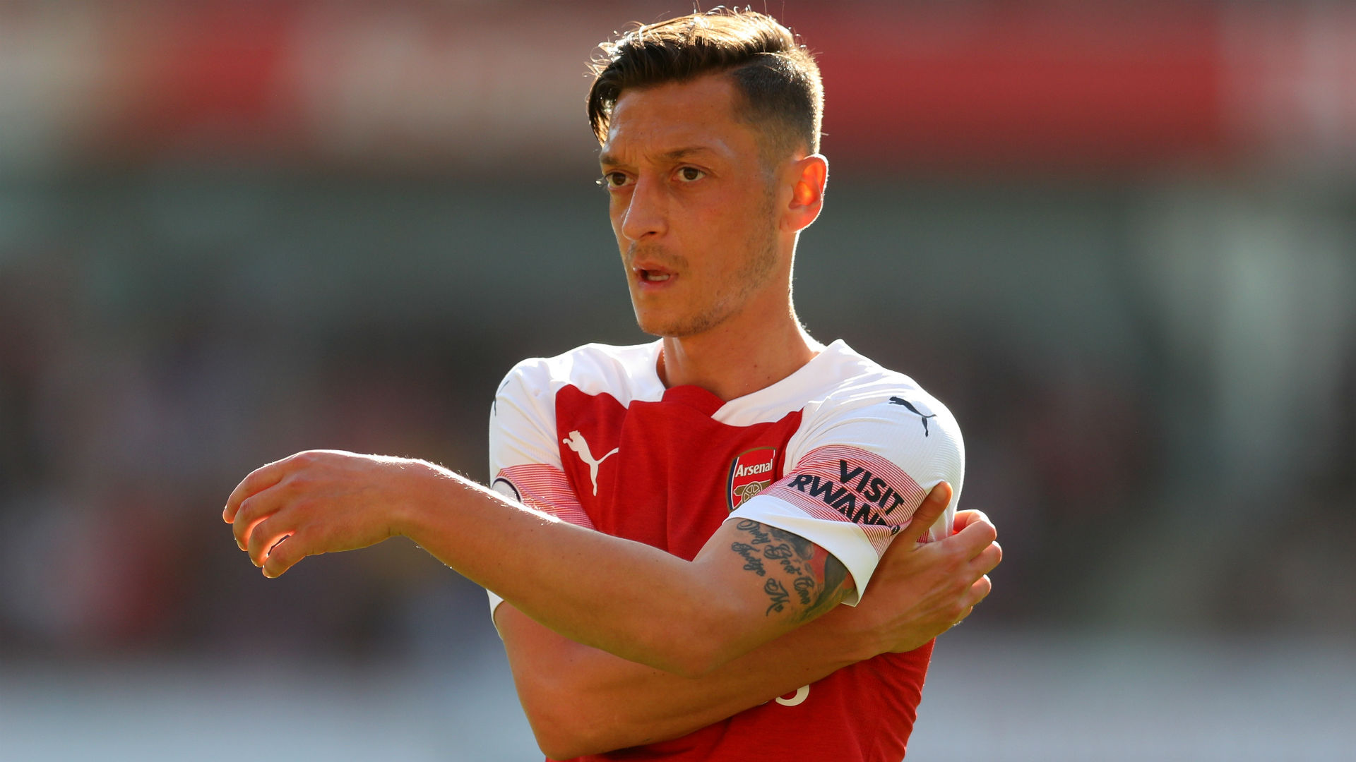 Ozil returns to full Arsenal training, Cech doubtful for Leicester clash
