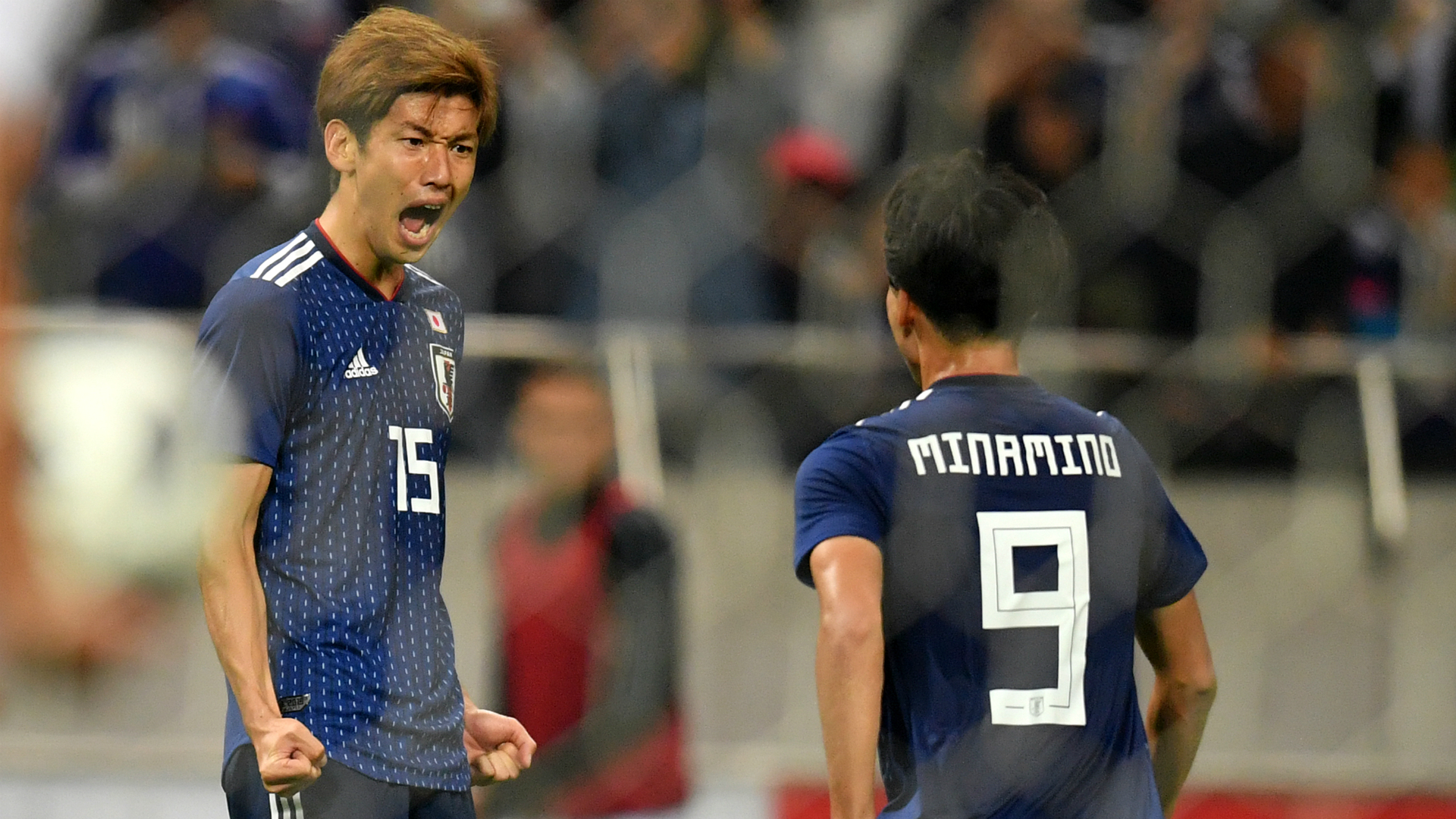Japan see off Uruguay in seven-goal thriller