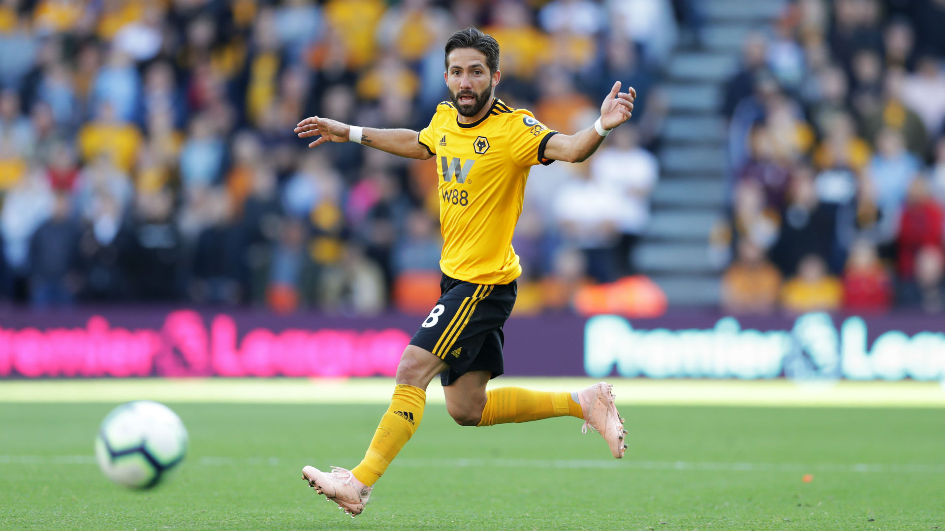 Moutinho targets European qualification with Wolves