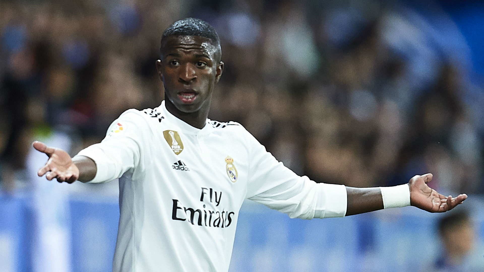 Vinicius 'calm' as he waits for Real Madrid chance