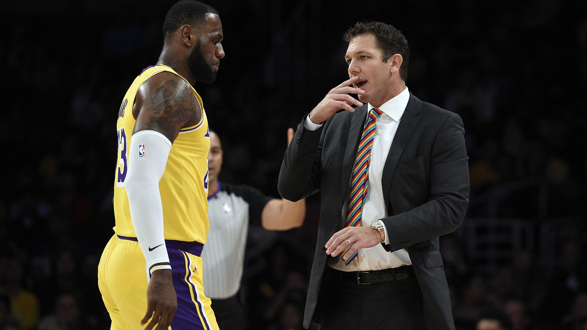 Lakers coach Luke Walton will monitor LeBron James' minutes, plans to use deep rotation