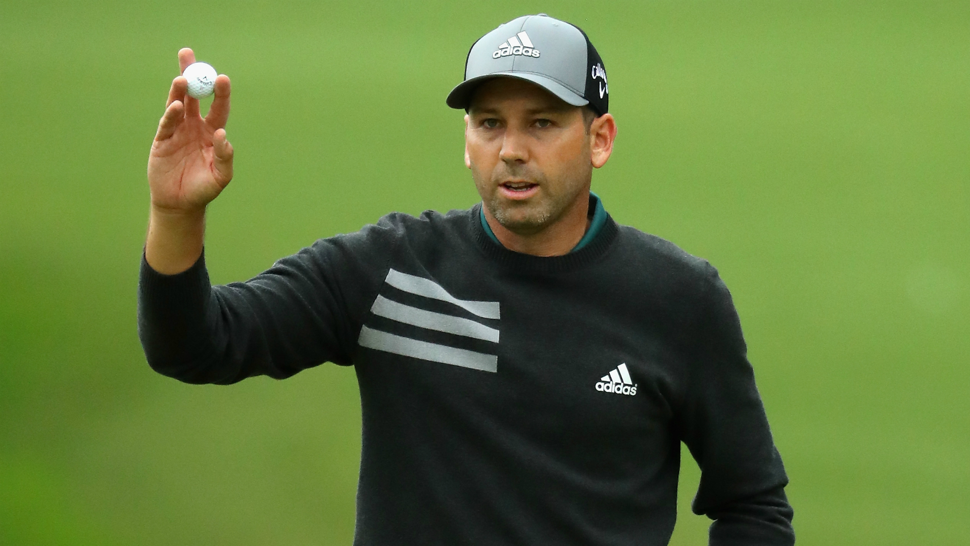 Garcia dazzles to hit the front at shortened Valderrama Masters