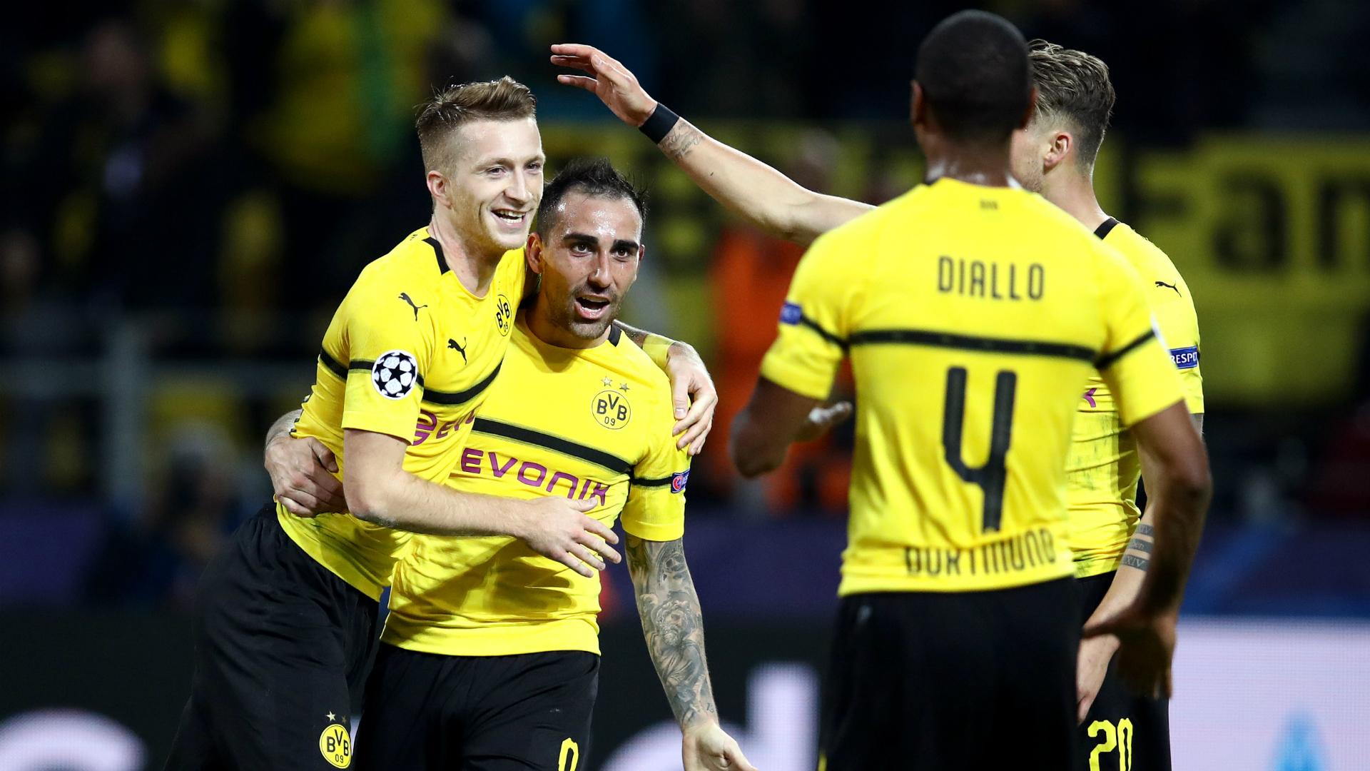 Language no barrier to Dortmund dangermen Reus and Alcacer