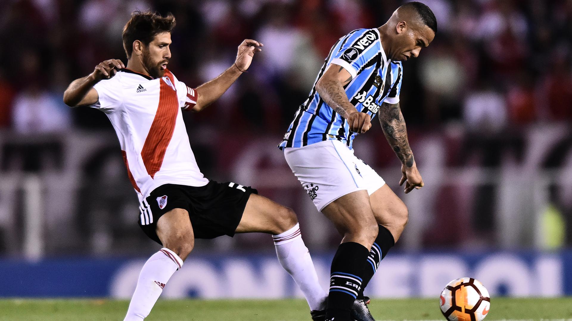 River Plate 0 Gremio 1: Michel header gives Brazilians edge in semi