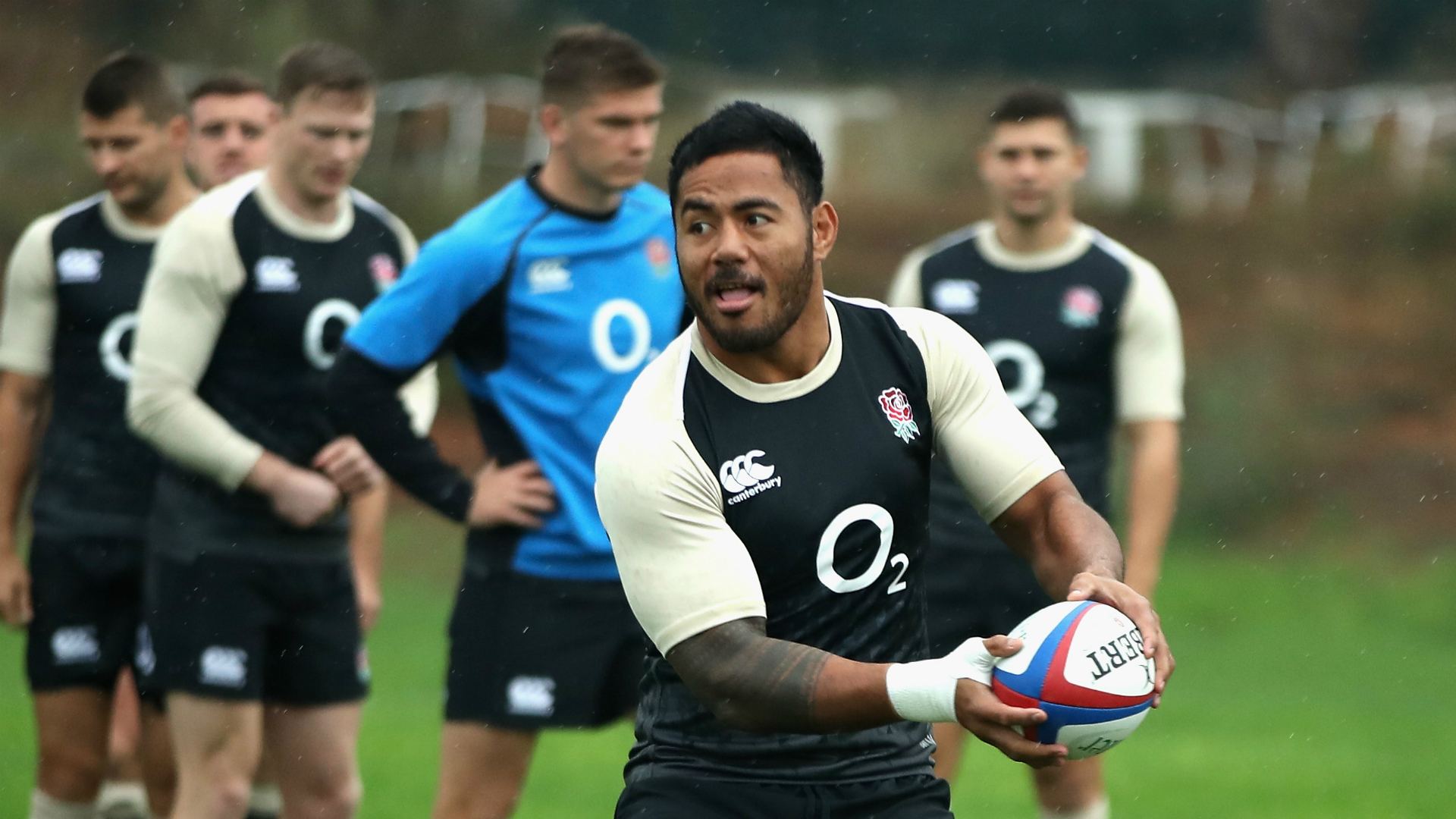Farrell talks up 'unique' England team-mate Tuilagi