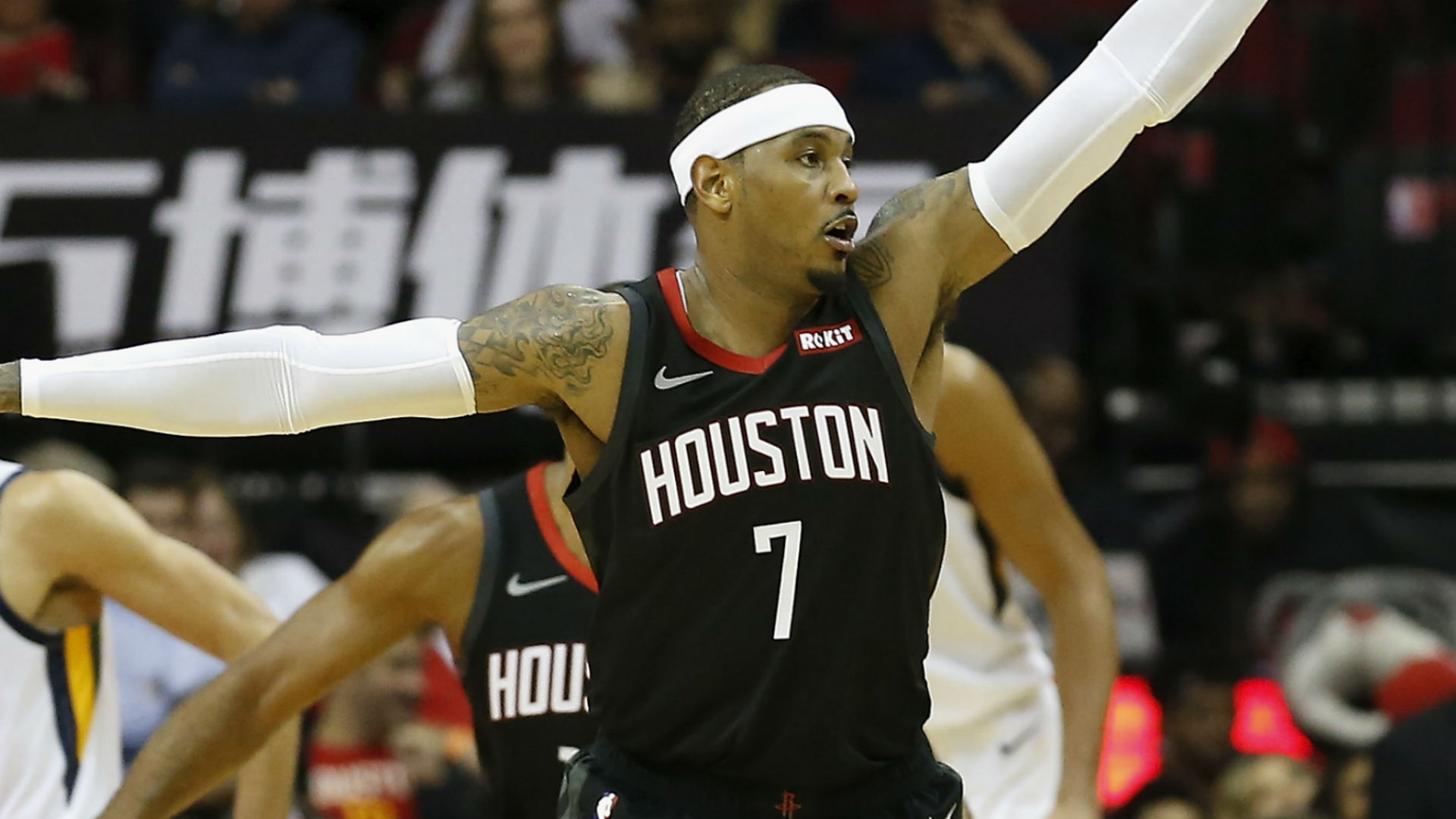 James Harden Injury Gives Carmelo Anthony Chance To Start