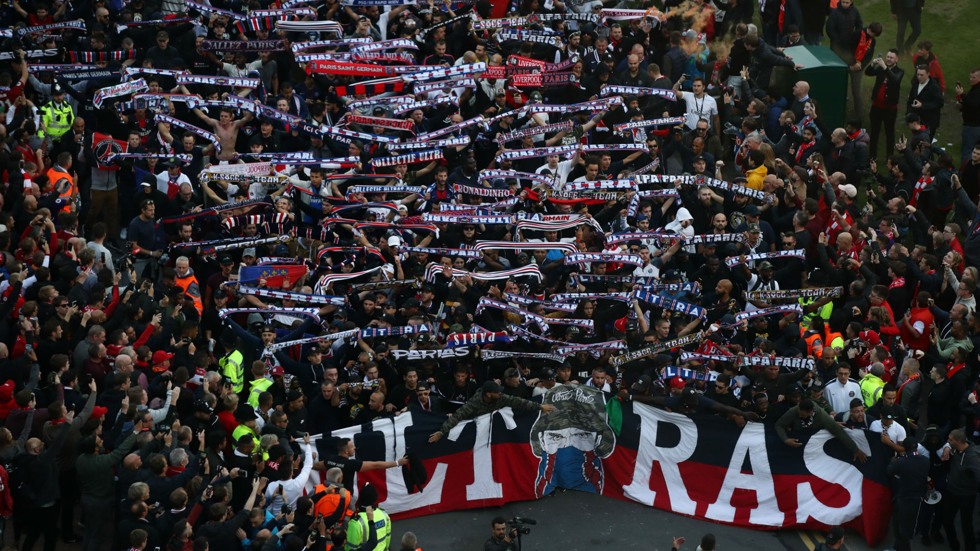 PSG condemn fan violence and fireworks after UEFA charge