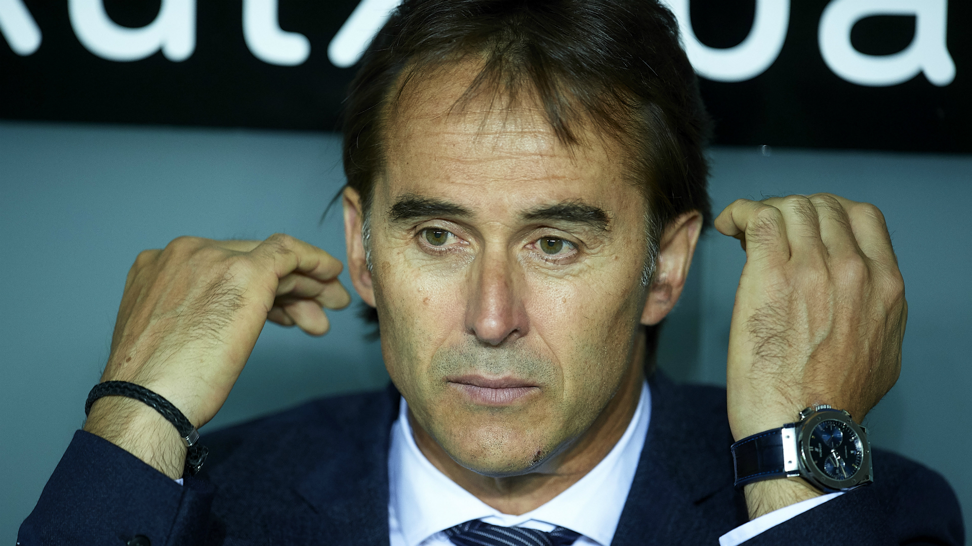 Lopetegui explains leaving Mariano on the bench