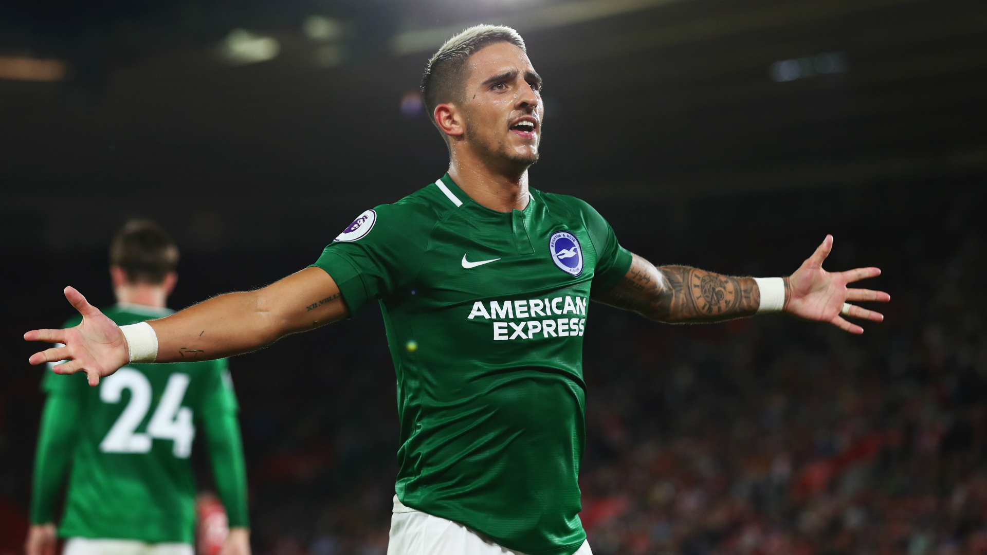 Brighton star Knockaert reveals battle with depression