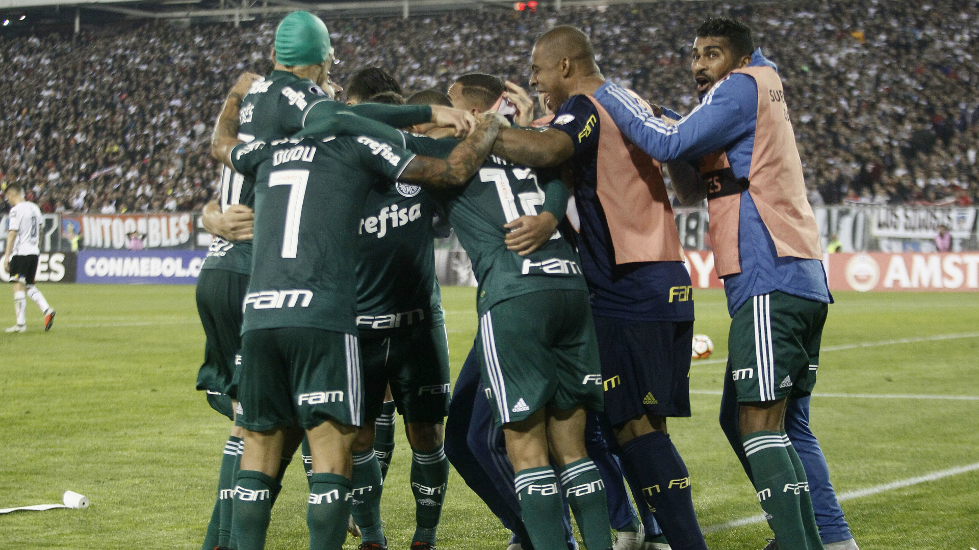 Colo Colo 0 Palmeiras 2: Scolari's men poised for Libertadores SFs