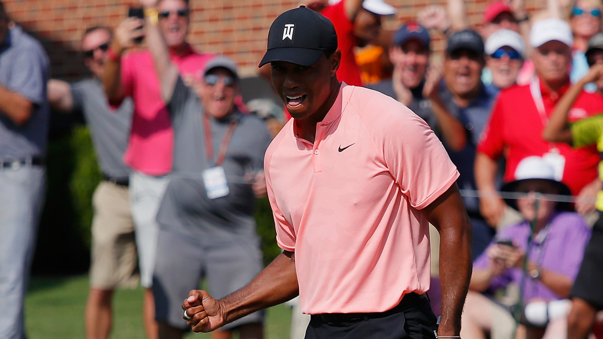 Tiger, Fowler lead at Tour Championship