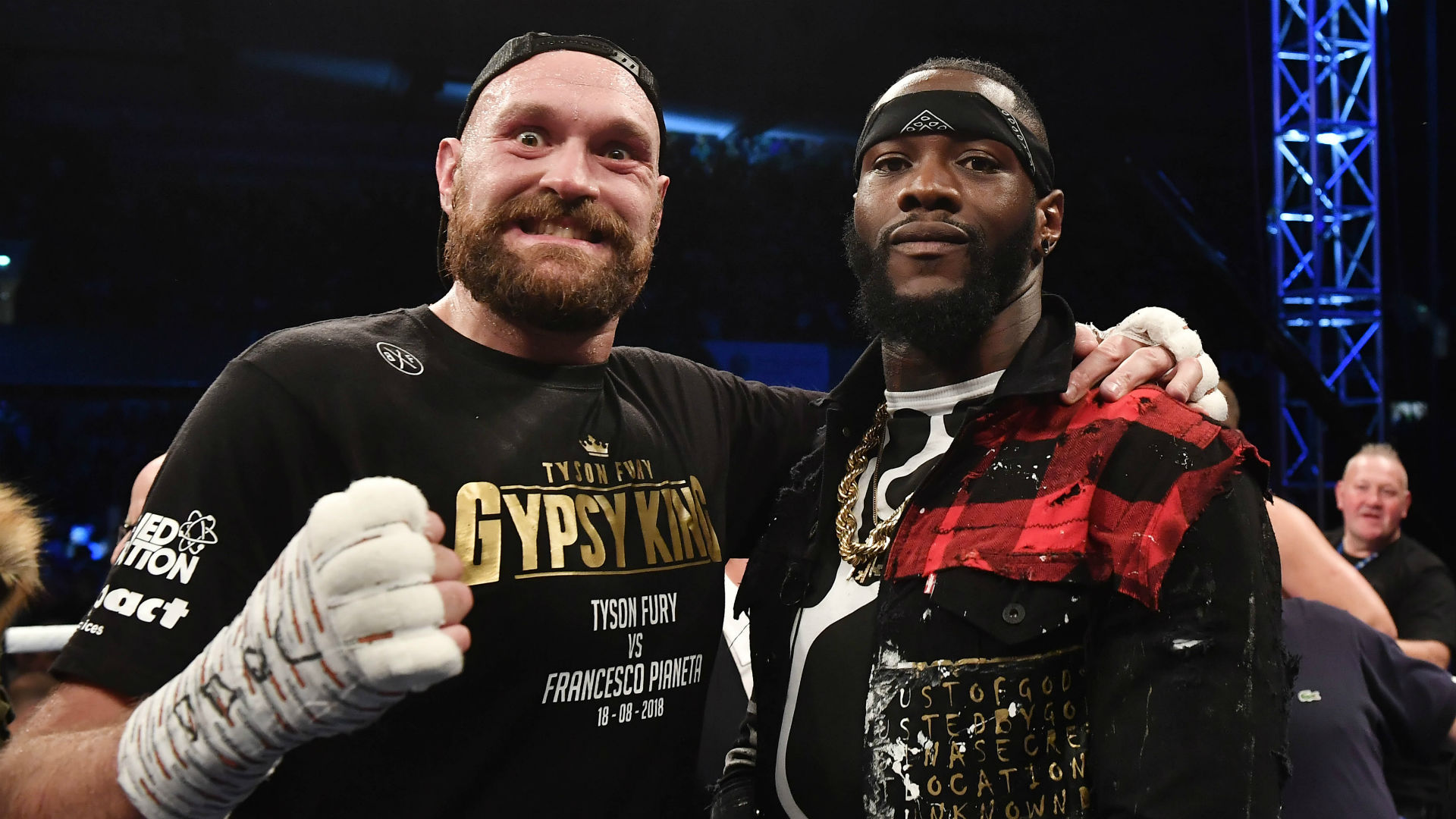 Deontay Wilder Tyson Fury blockbuster WBC heavyweight title fight set for December