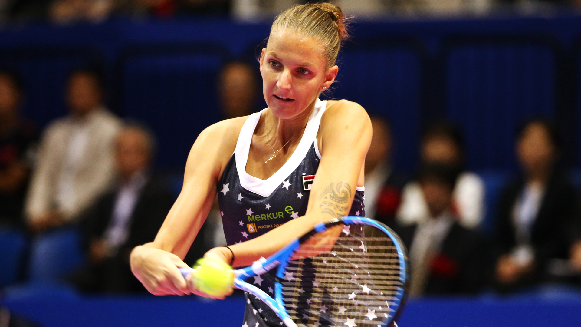 Pliskova too strong for Osaka in Tokyo final