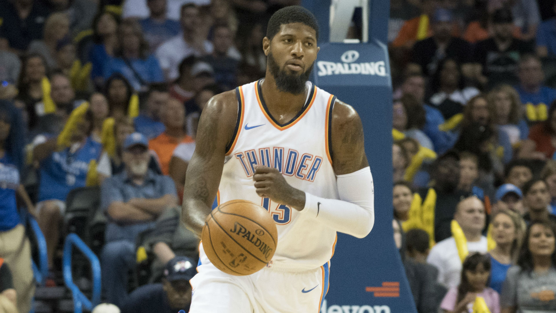 George believes Thunder can compete for championship this season