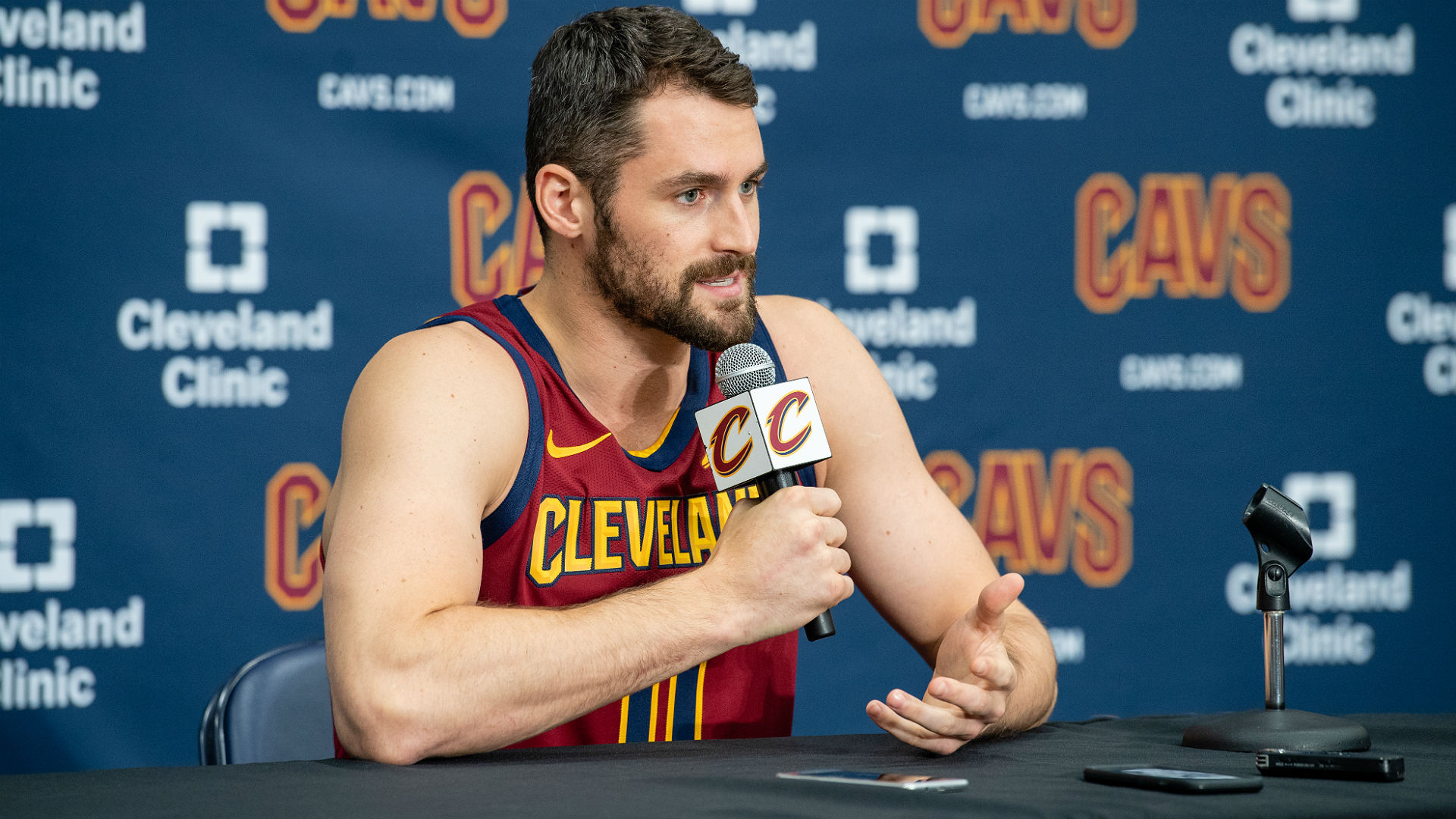 Love says Cavs 'will surprise a lot of people'