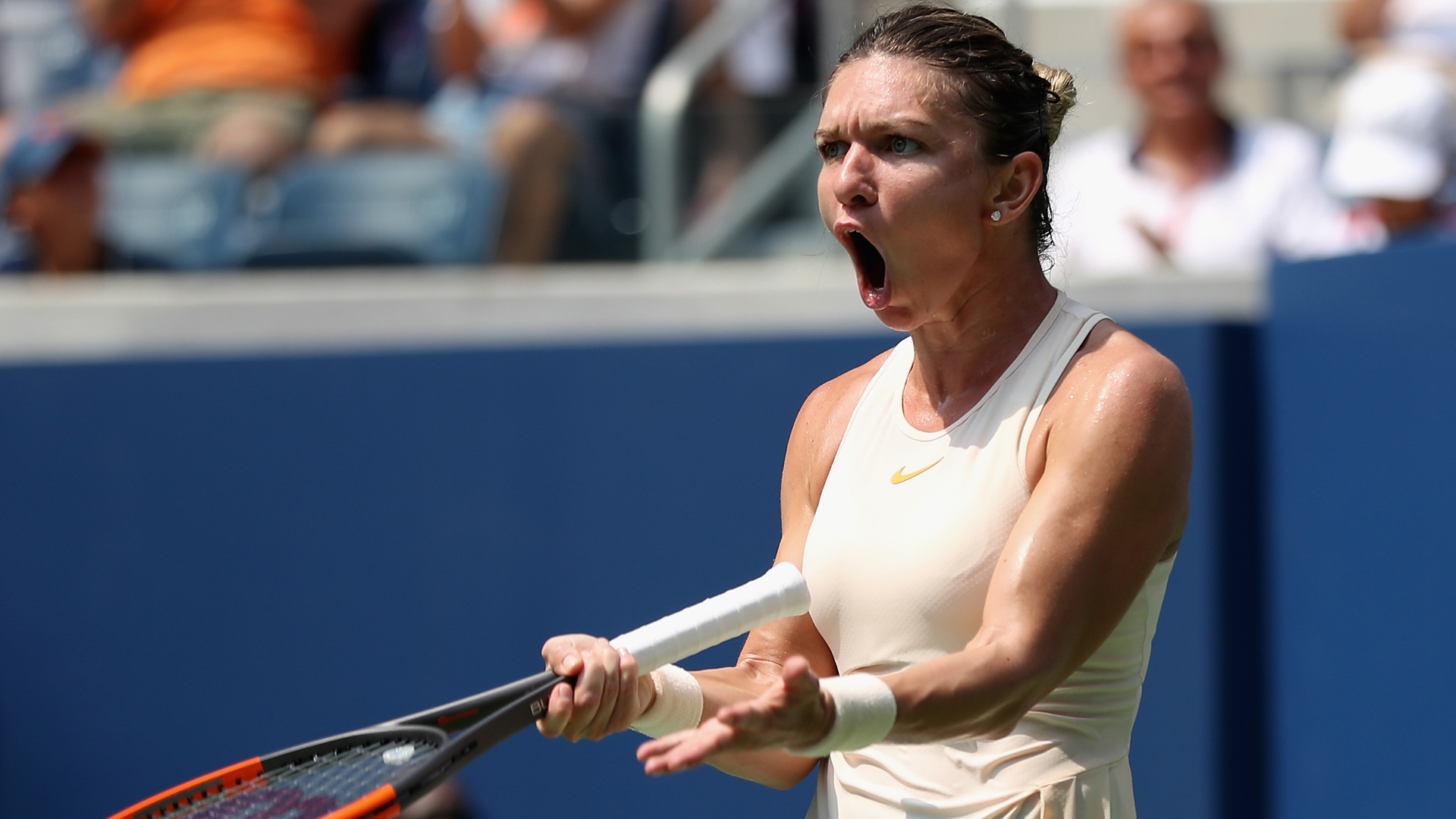 Halep and Garcia among seeds to fall in Wuhan